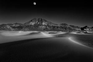 Ansel Adams dune at night