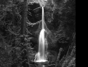 Marymere Falls, Infrared