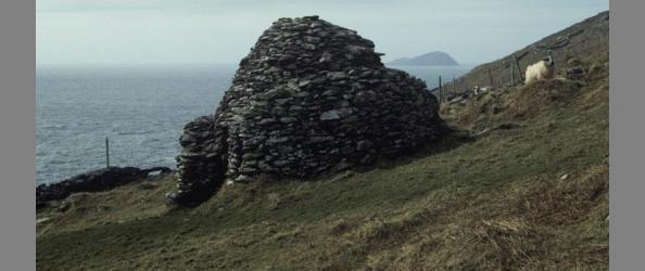 Irish beehive hut