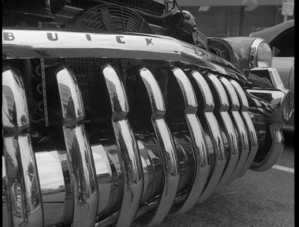 "'49 Buick grill, the ""Million Dollar Smile"""