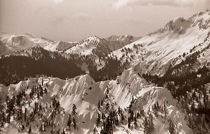 Mt. Crumpet, and yes, we skied it