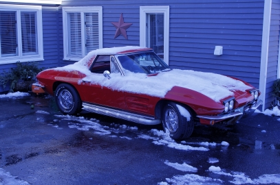 I wish I could afford to have a car like this, parked outside in a snow storm, with the window down. Seriously, just forfeit me the keys.