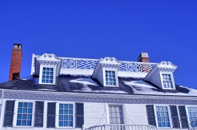 I loved the crazy starburst widow's walk details. In 200 years, who ever looked up and saw it.