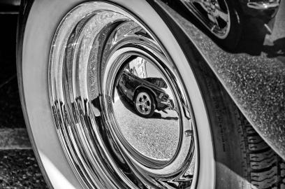 Wheel 8 BW